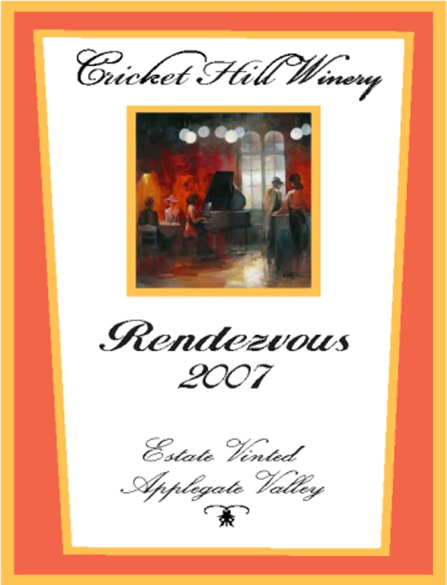 2007 Rendezvous Tasting notes